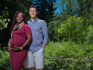 Ty and Venessa Crandell Beautiful things about pregnancy